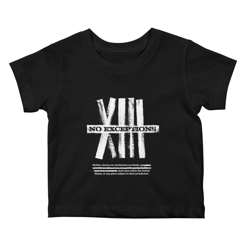 13th Kids Baby T-Shirt by Red Robot
