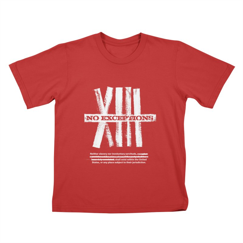 13th Kids T-Shirt by Red Robot