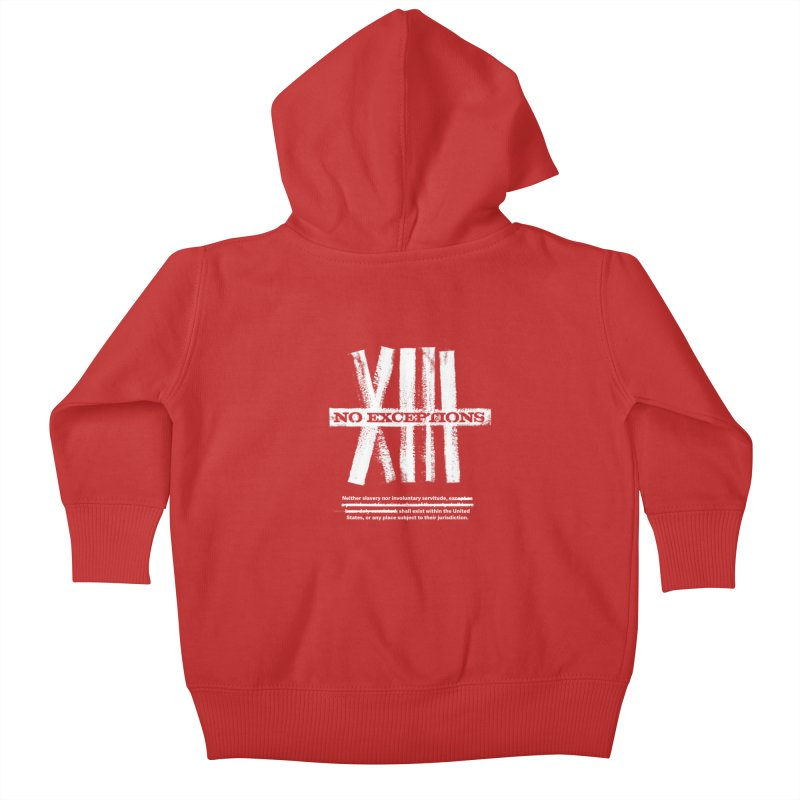 13th Kids Baby Zip-Up Hoody by Red Robot