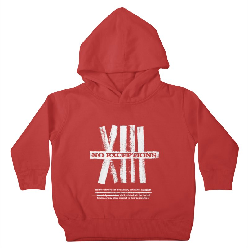 13th Kids Toddler Pullover Hoody by Red Robot