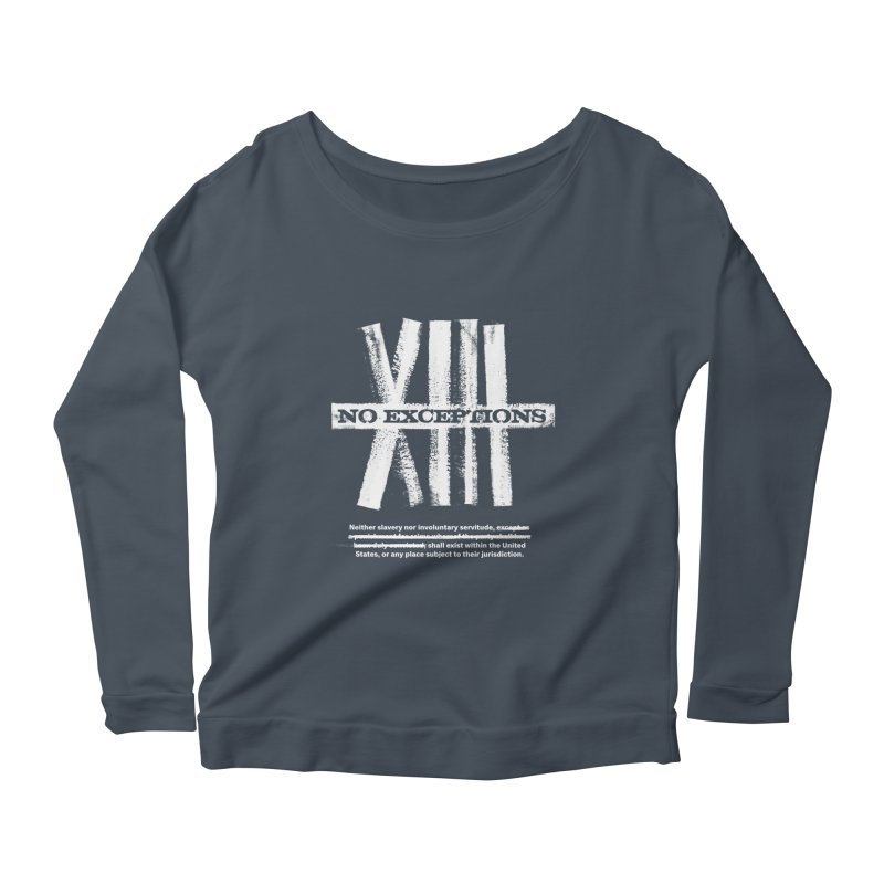 13th Women's Longsleeve Scoopneck  by Red Robot