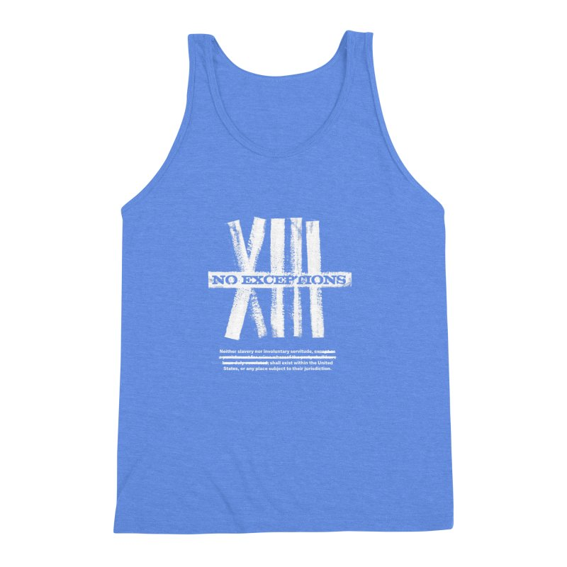 13th Men's Triblend Tank by Red Robot