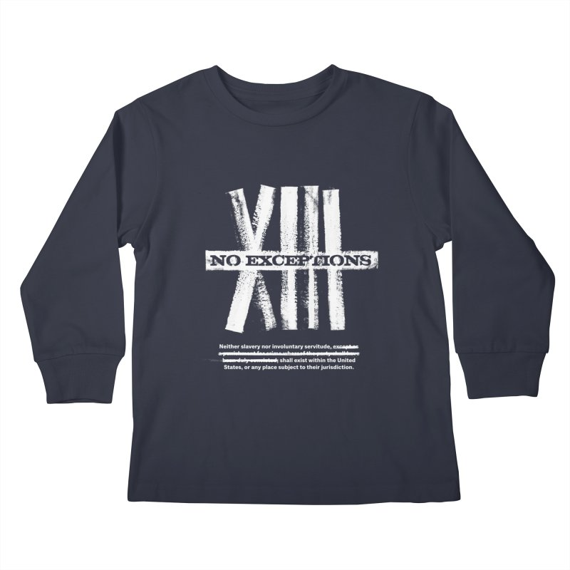 13th Kids Longsleeve T-Shirt by Red Robot