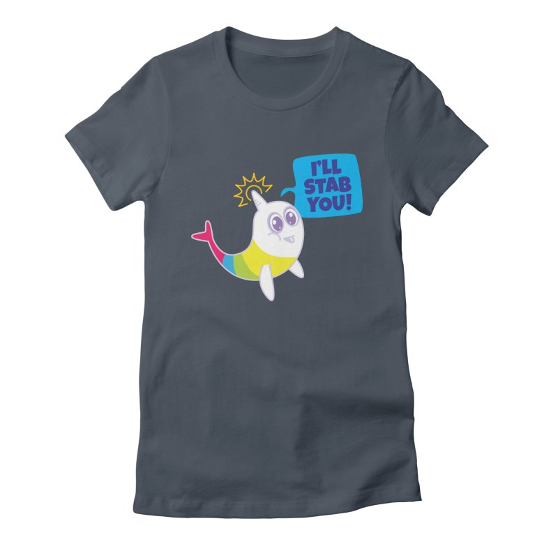 Stabby McNarwhal Women's T-Shirt by Red Robot