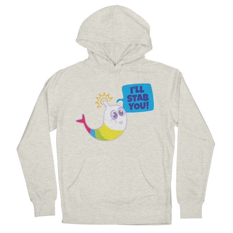 Stabby McNarwhal Women's Pullover Hoody by Red Robot