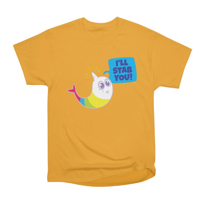 Stabby McNarwhal Men's Classic T-Shirt by Red Robot