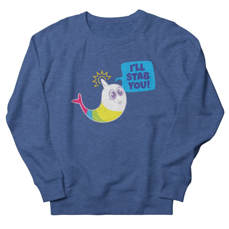 Stabby McNarwhal Women's Sweatshirt by Red Robot