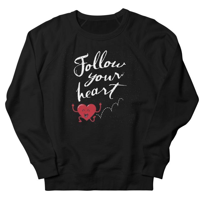 Follow Your Heart Men's Sweatshirt by Red Robot