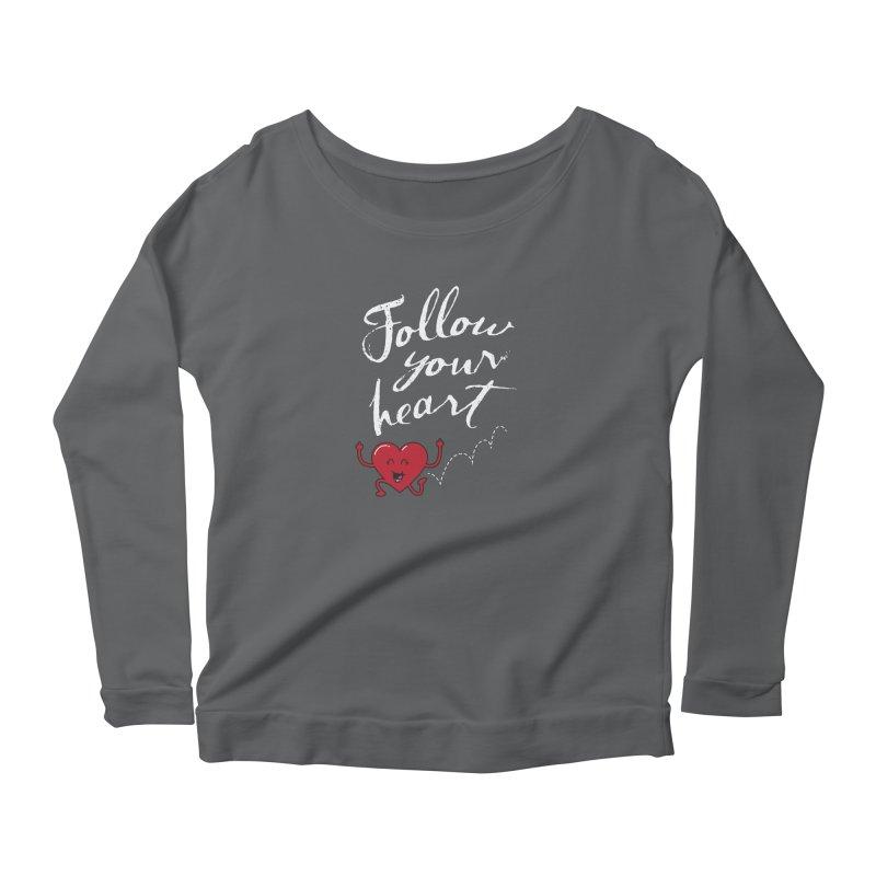 Follow Your Heart Women's Longsleeve T-Shirt by Red Robot