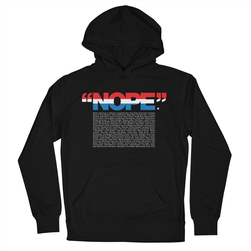 Nope Men's Pullover Hoody by Red Robot