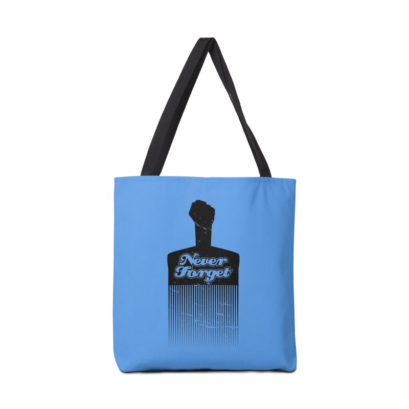 Never Forget Accessories Tote Bag Bag by Red Robot
