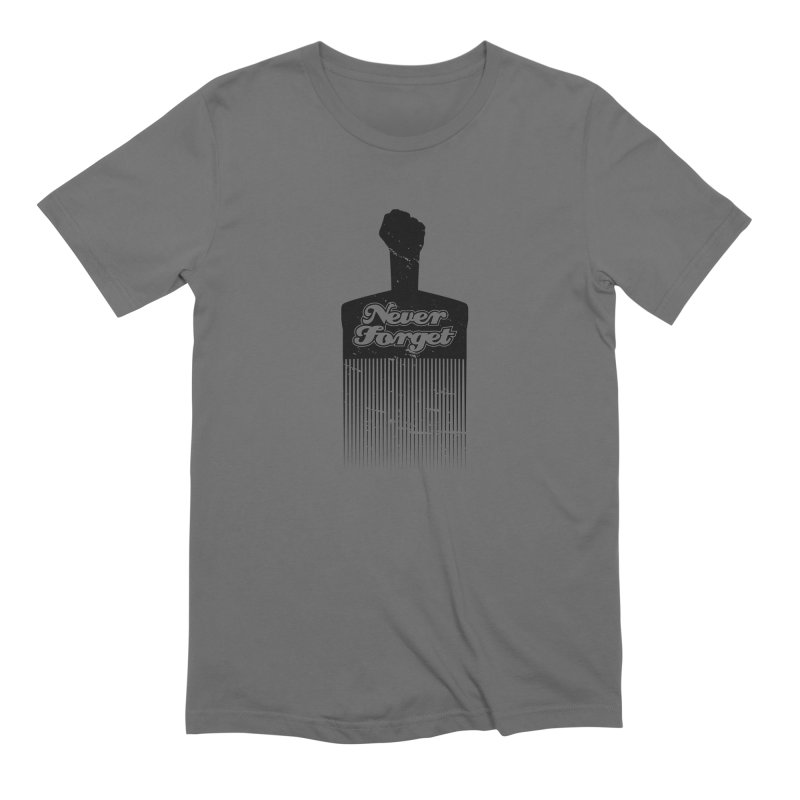 Never Forget Men's T-Shirt by Red Robot