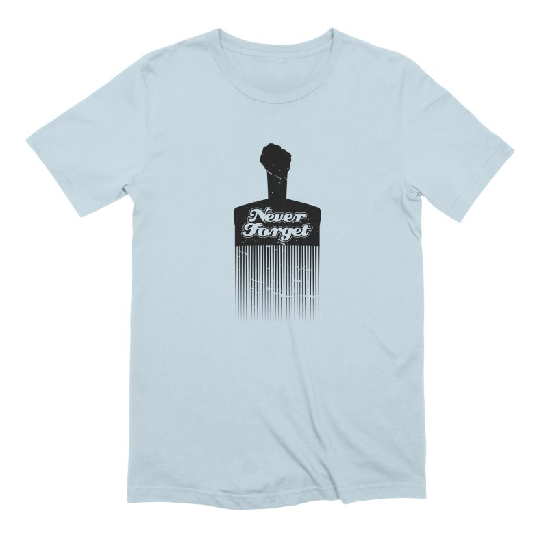 Never Forget Men's Extra Soft T-Shirt by Red Robot