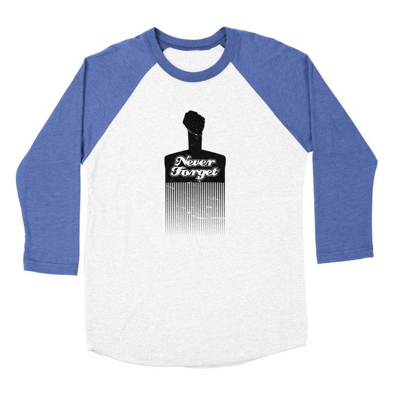 Never Forget Women's Baseball Triblend Longsleeve T-Shirt by Red Robot