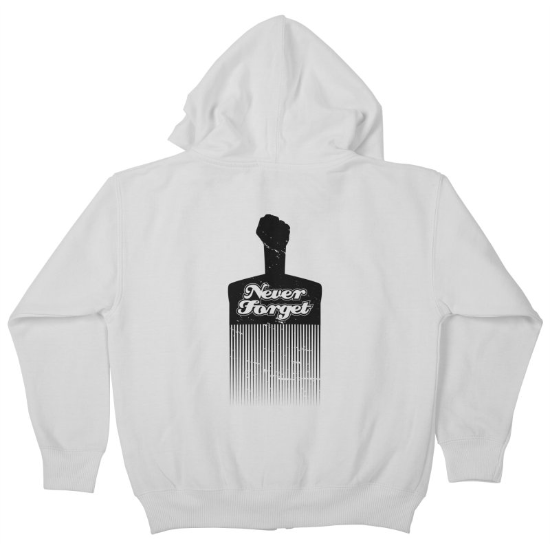 Never Forget Kids Zip-Up Hoody by Red Robot