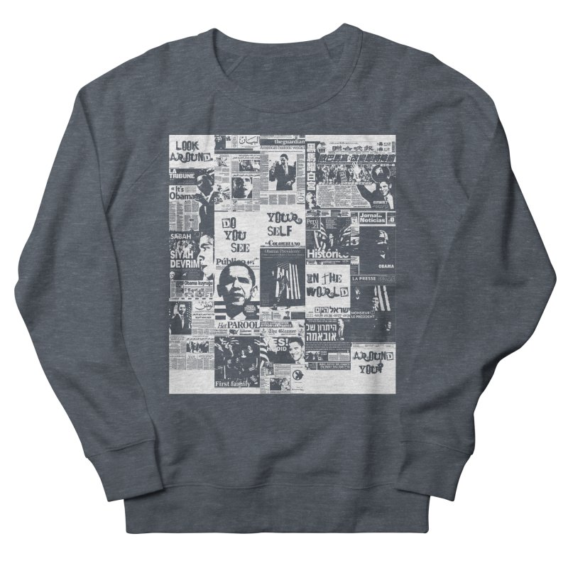 Do you see? (white) Men's Sweatshirt by Red Robot