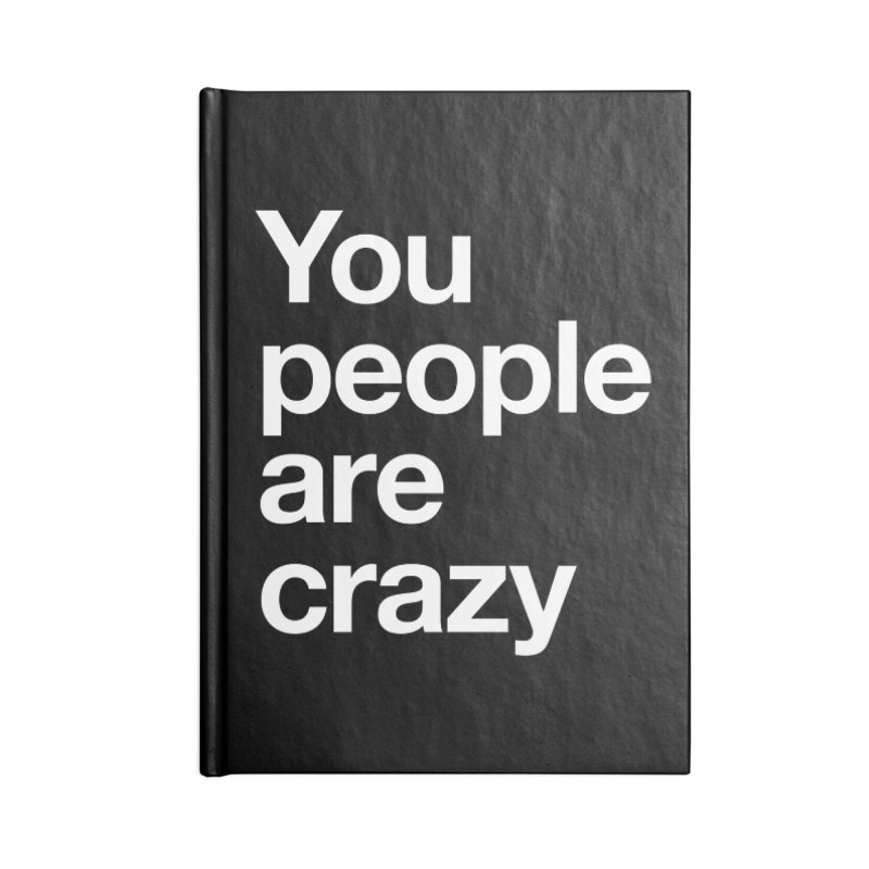 You People Accessories Blank Journal Notebook by Red Robot