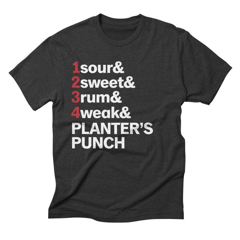 Planter's Punch! Men's Triblend T-shirt by Red Robot