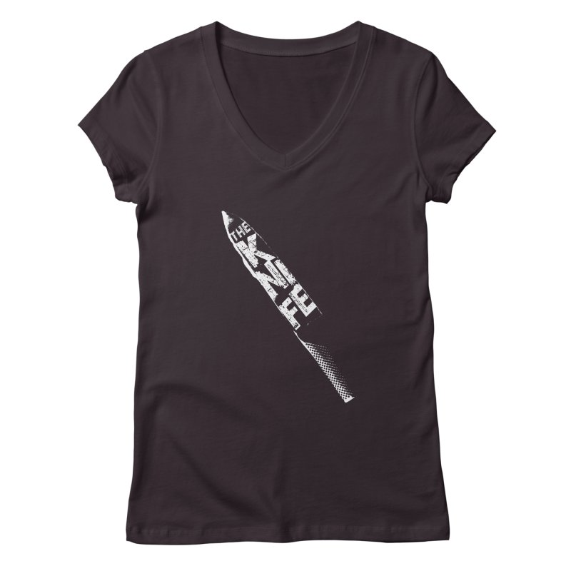 The Kitchen Knife Women's V-Neck by Red Robot