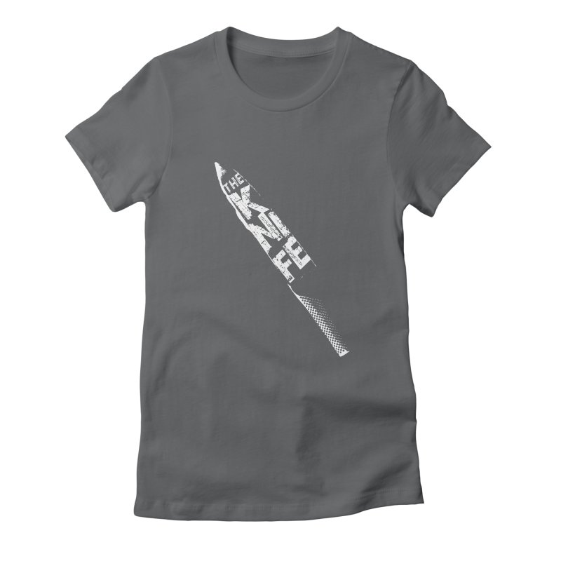The Kitchen Knife Women's Fitted T-Shirt by Red Robot