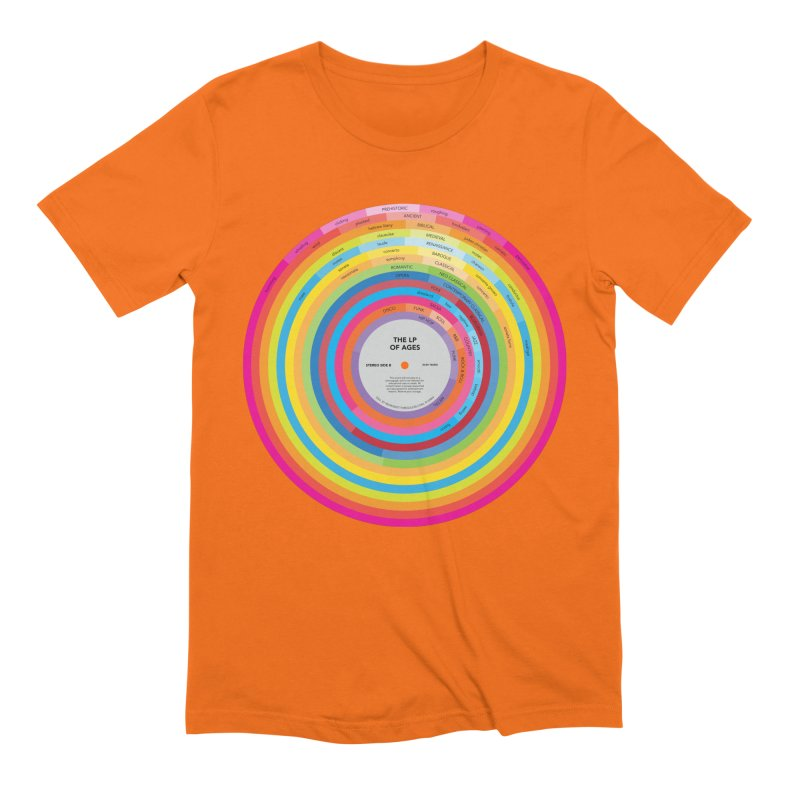 LP of Ages Men's Extra Soft T-Shirt by Red Robot