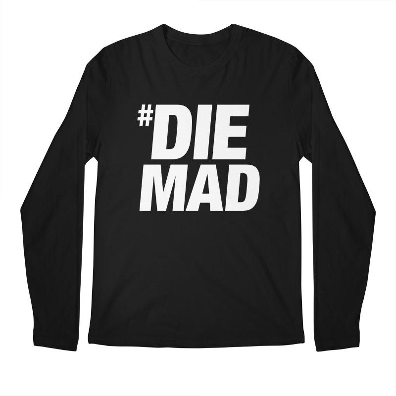 Die Mad Men's Regular Longsleeve T-Shirt by Red Robot