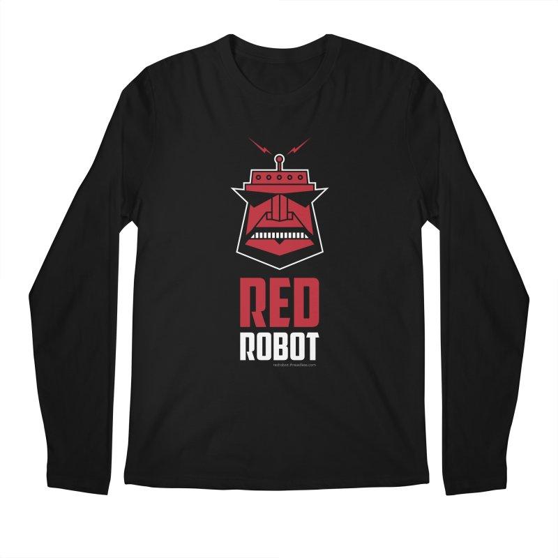 Red Robot Men's Regular Longsleeve T-Shirt by Red Robot