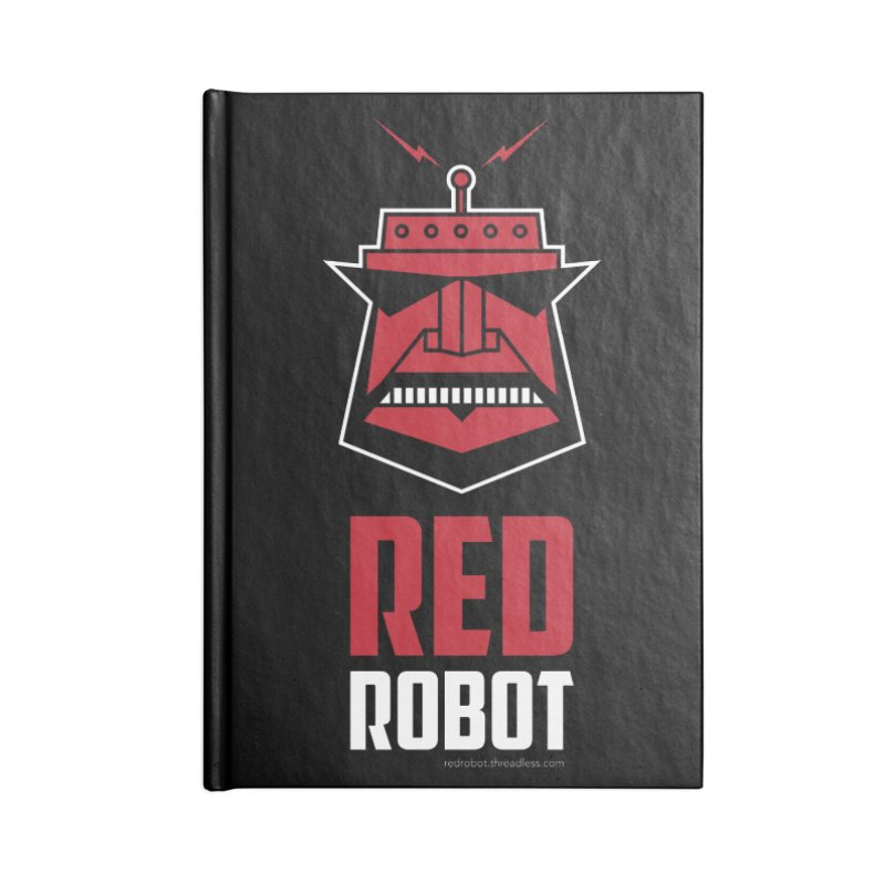 Red Robot Accessories Lined Journal Notebook by Red Robot