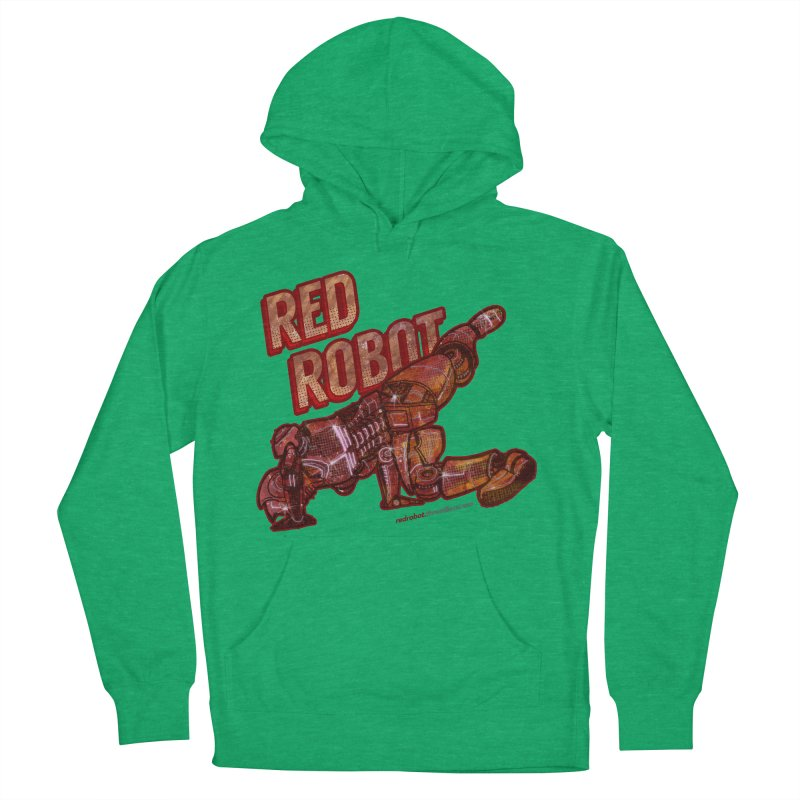 Red Robot BREAKDANCE! Women's Pullover Hoody by Red Robot
