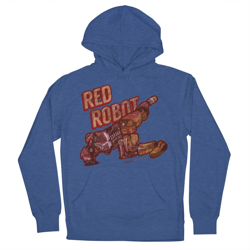 Red Robot BREAKDANCE! Women's French Terry Pullover Hoody by Red Robot