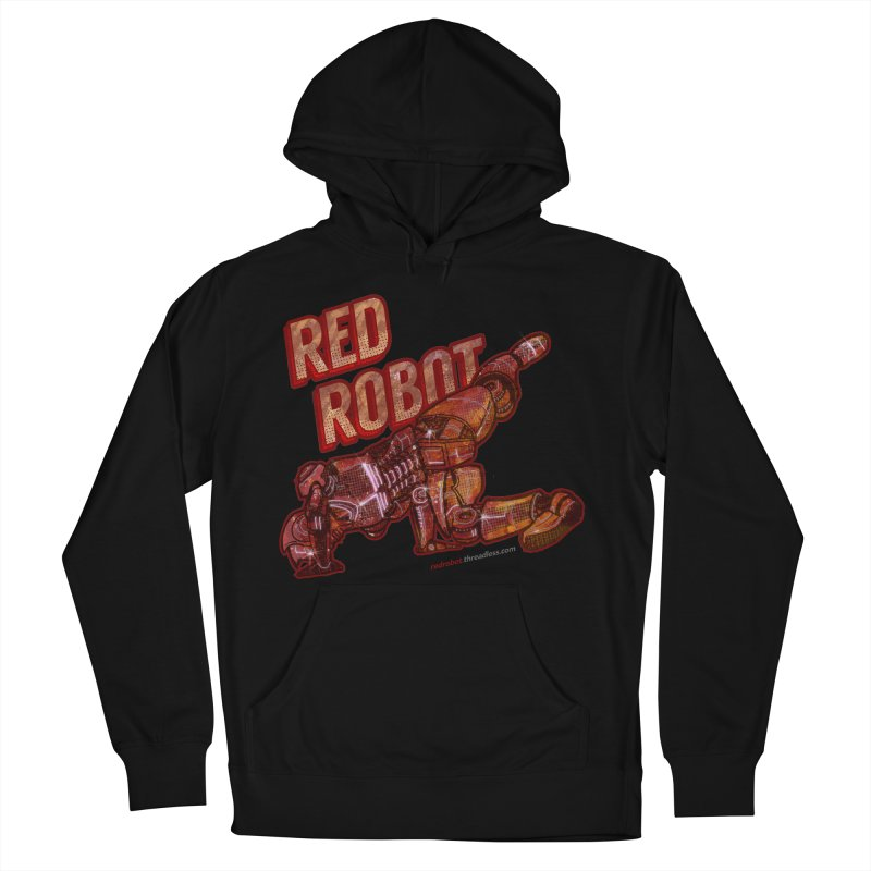 Red Robot BREAKDANCE! Men's French Terry Pullover Hoody by Red Robot