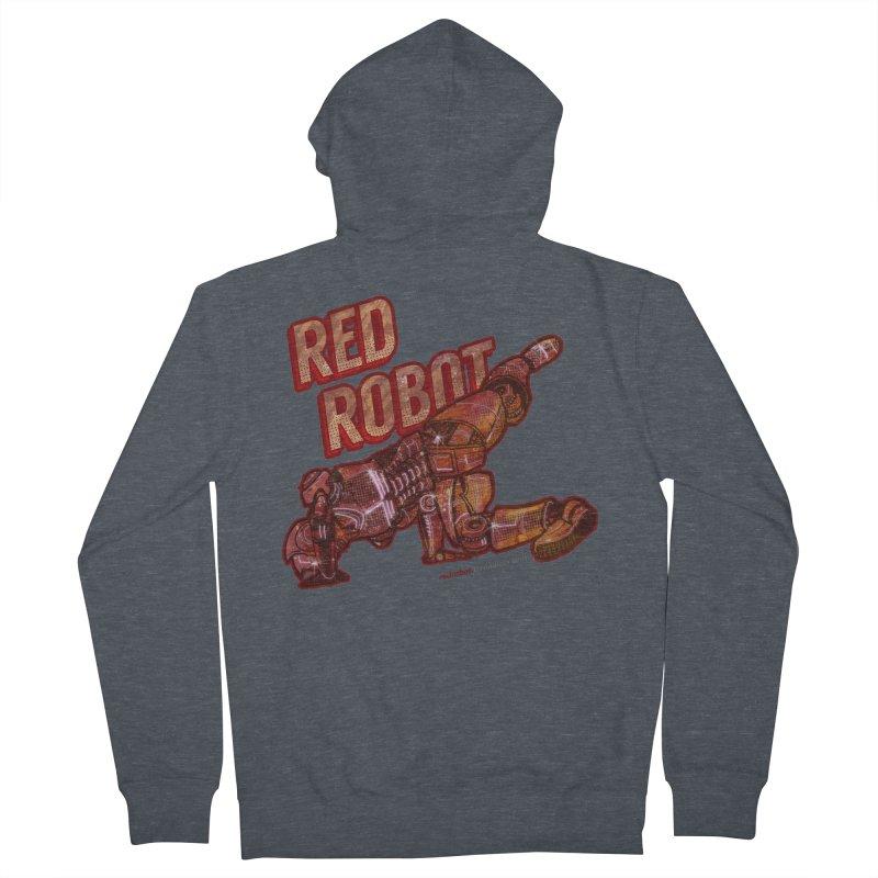 Red Robot BREAKDANCE! Women's Zip-Up Hoody by Red Robot