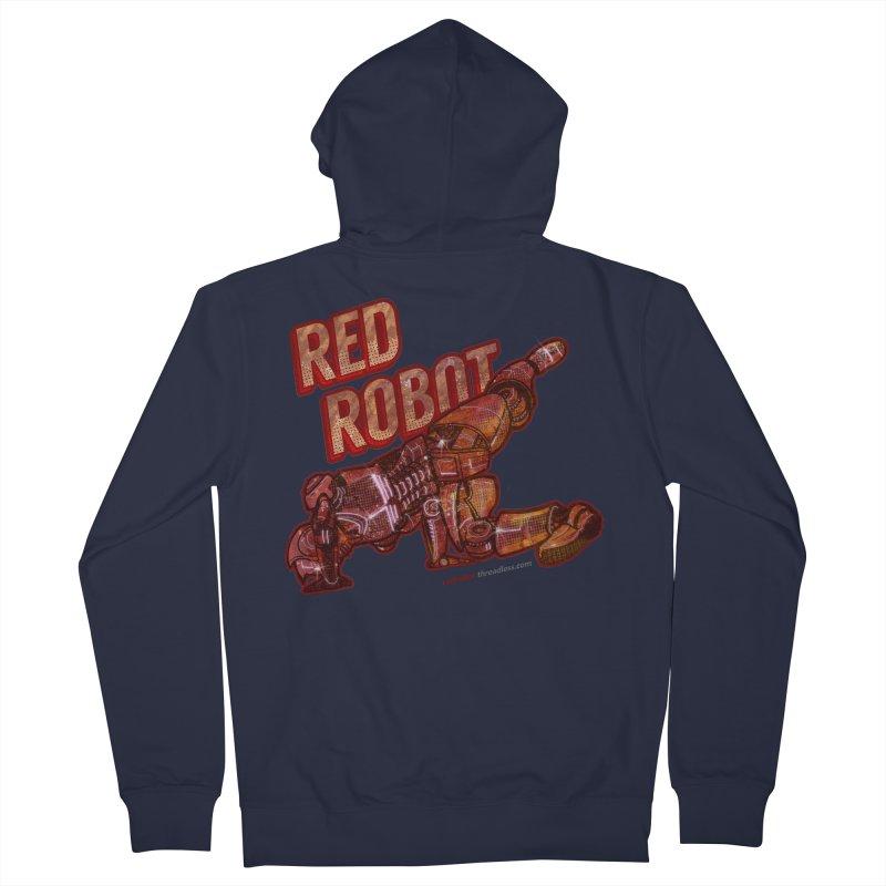 Red Robot BREAKDANCE! Men's Zip-Up Hoody by Red Robot