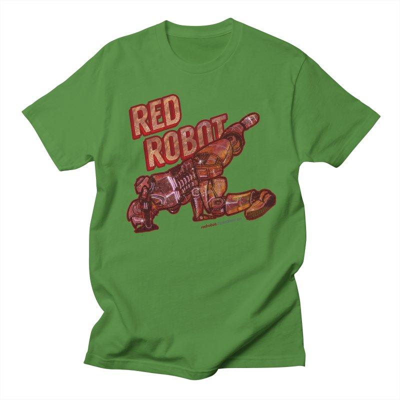 Red Robot BREAKDANCE! Men's T-Shirt by Red Robot