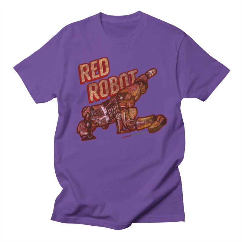 Red Robot BREAKDANCE! Men's Regular T-Shirt by Red Robot