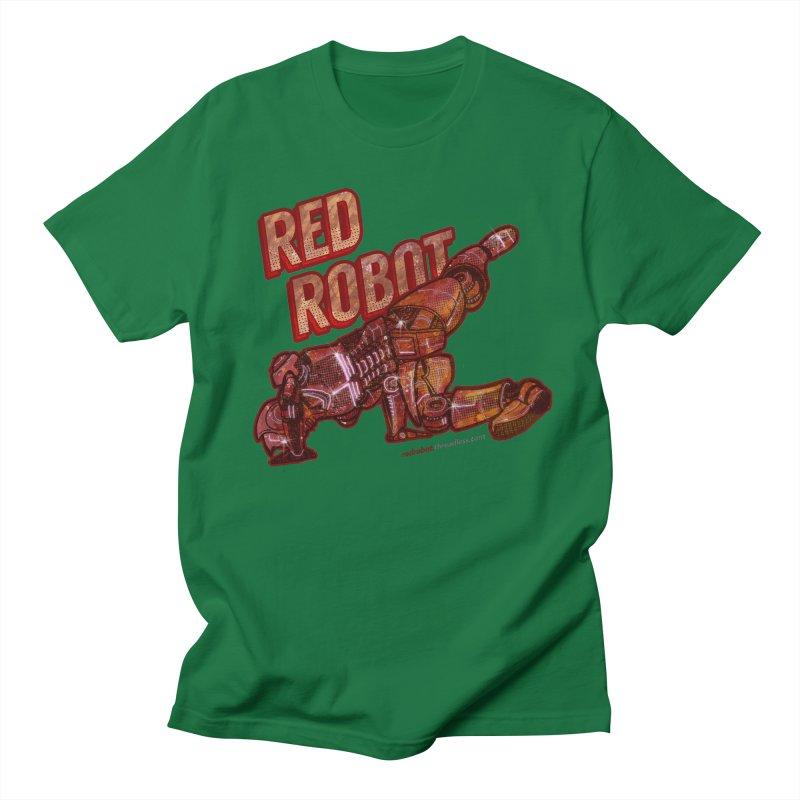 Red Robot BREAKDANCE! Men's Regular T-Shirt by Red Robot