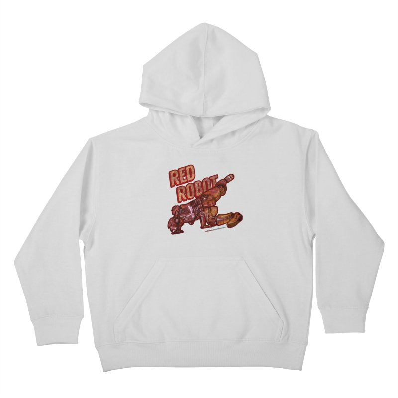 Red Robot BREAKDANCE! Kids Pullover Hoody by Red Robot