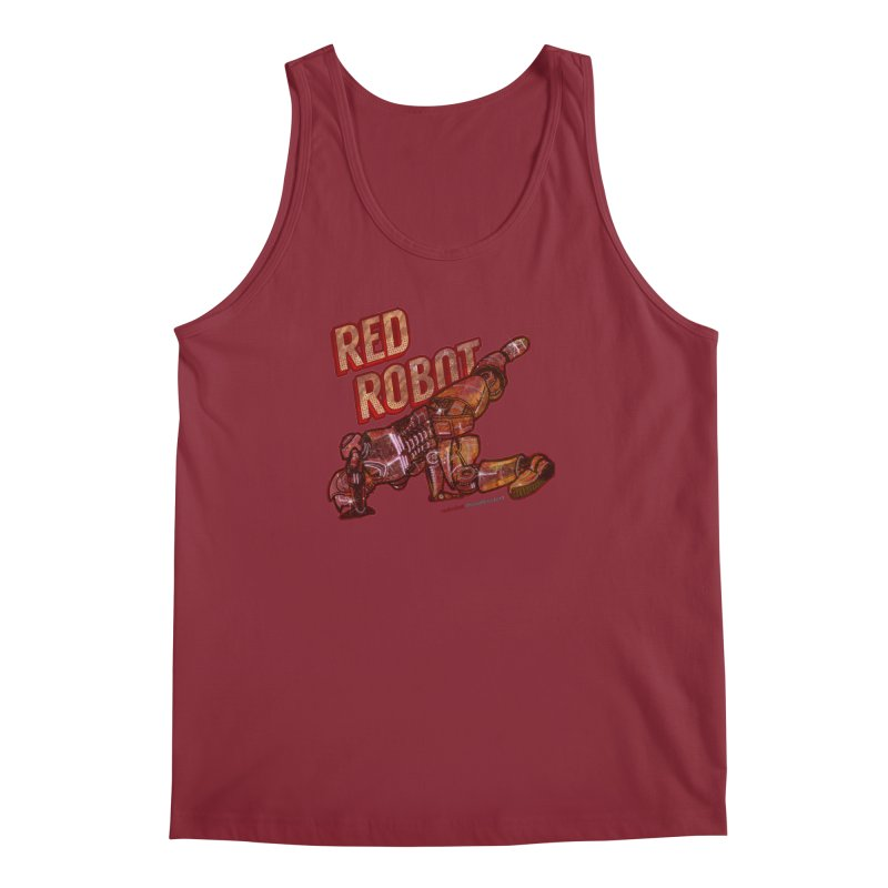 Red Robot BREAKDANCE! Men's Tank by Red Robot
