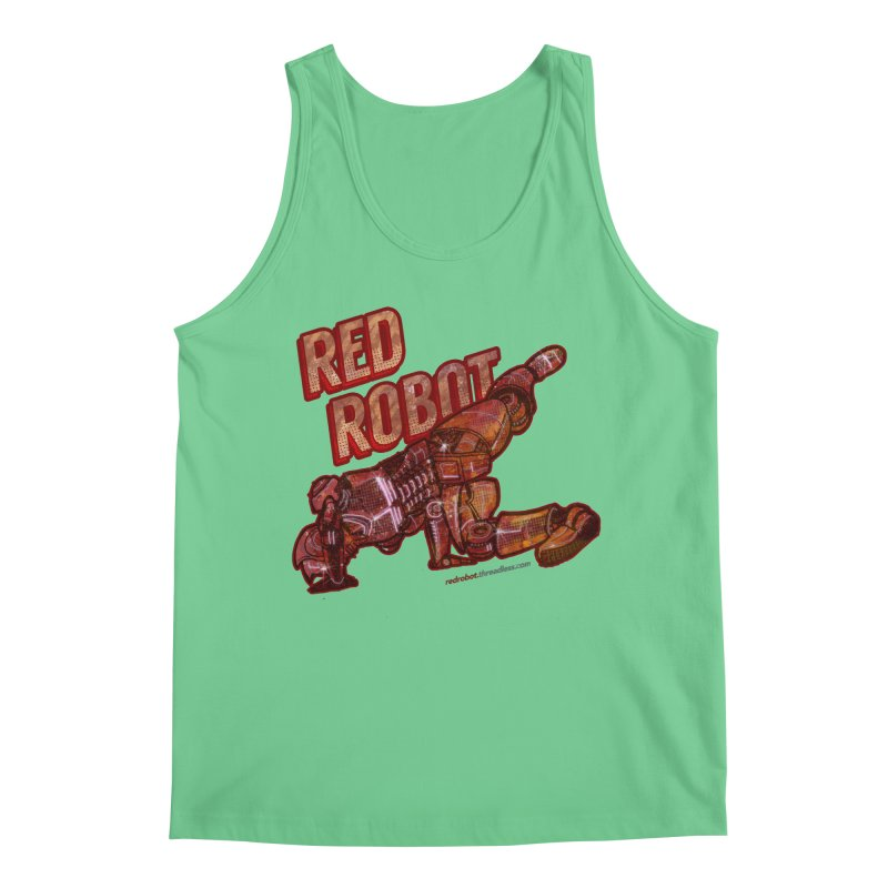 Red Robot BREAKDANCE! Men's Regular Tank by Red Robot
