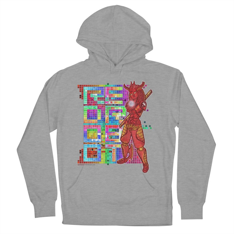 Red Robot: B-GIRLBOT Women's French Terry Pullover Hoody by Red Robot