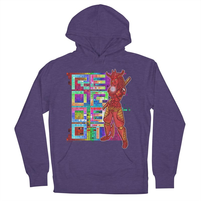 Red Robot: B-GIRLBOT Men's French Terry Pullover Hoody by Red Robot