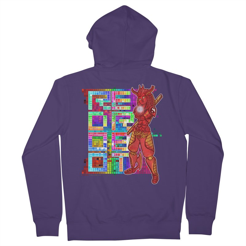 Red Robot: B-GIRLBOT Women's French Terry Zip-Up Hoody by Red Robot