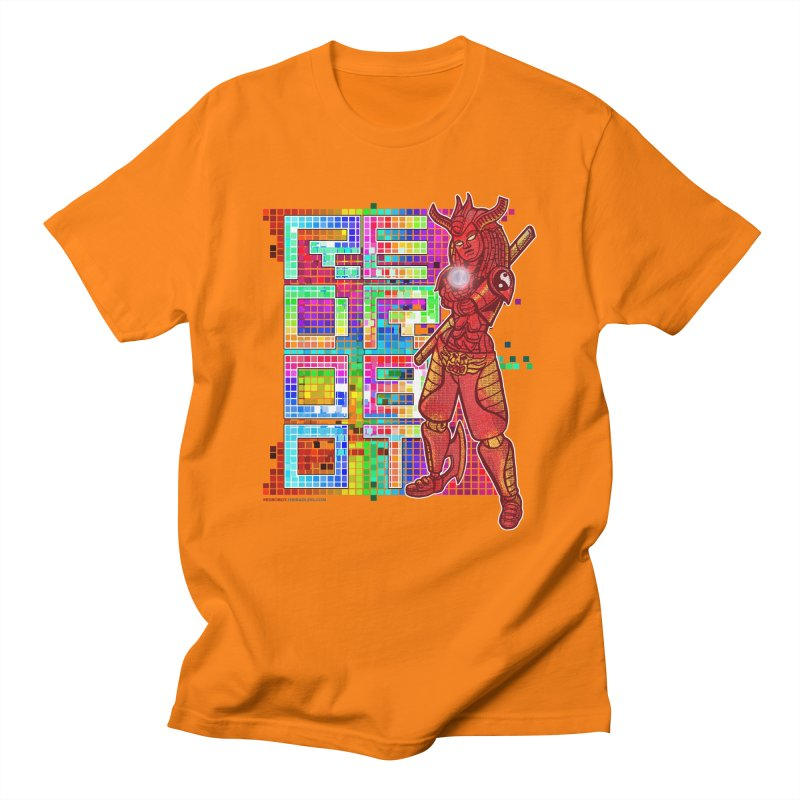 Red Robot: B-GIRLBOT Men's Regular T-Shirt by Red Robot