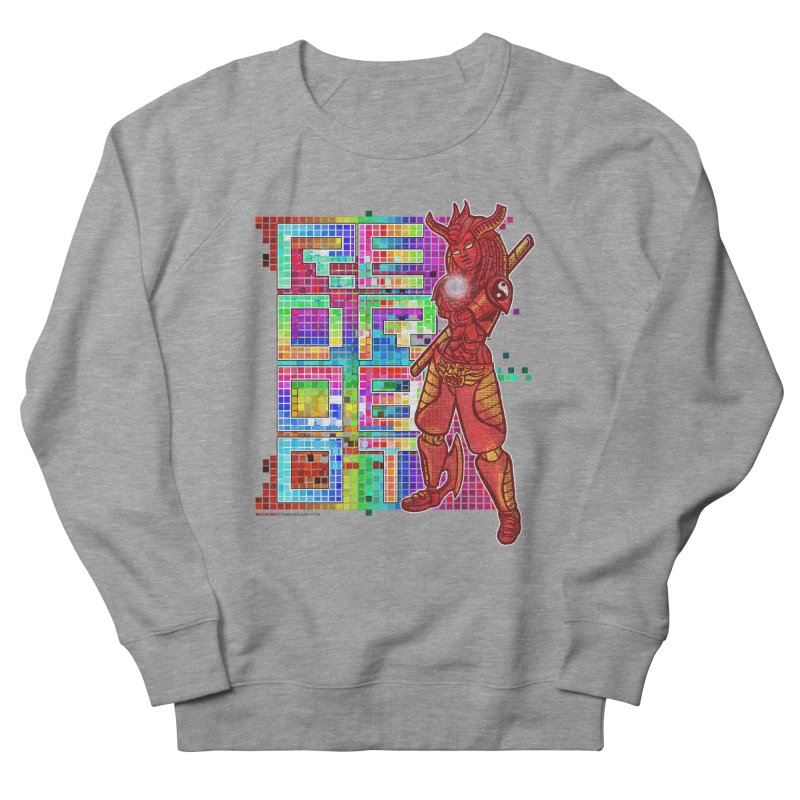Red Robot: B-GIRLBOT Women's French Terry Sweatshirt by Red Robot