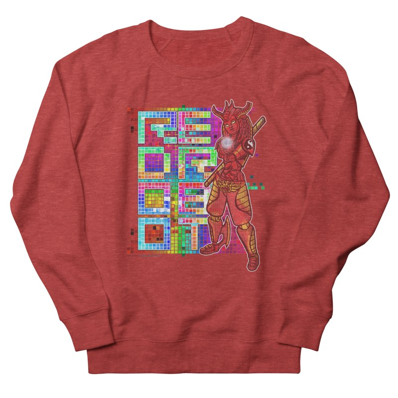 Red Robot: B-GIRLBOT Men's French Terry Sweatshirt by Red Robot
