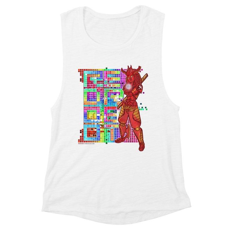 Red Robot: B-GIRLBOT Women's Tank by Red Robot