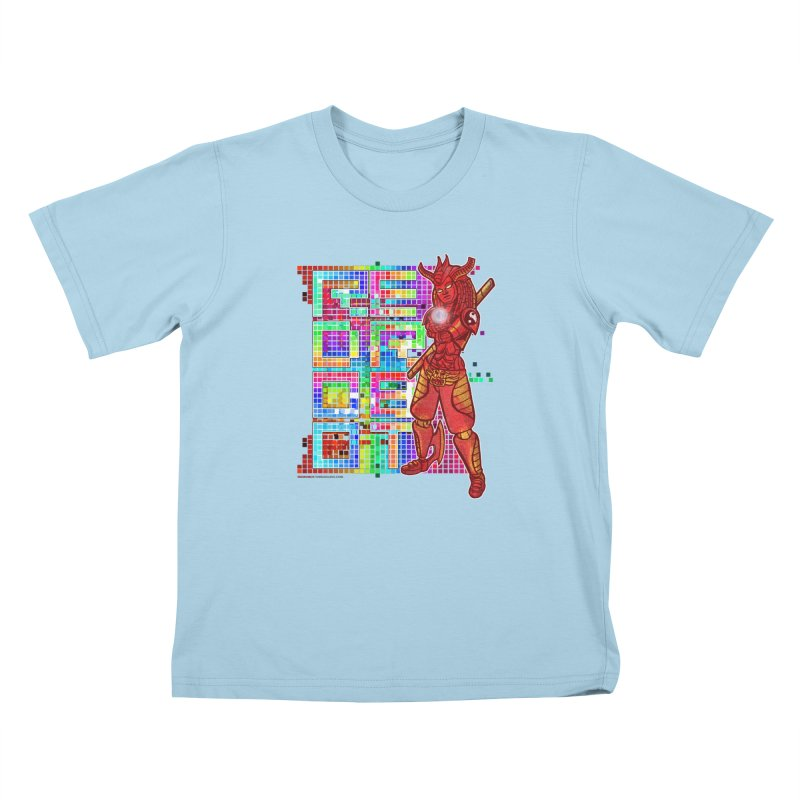 Red Robot: B-GIRLBOT Kids T-Shirt by Red Robot