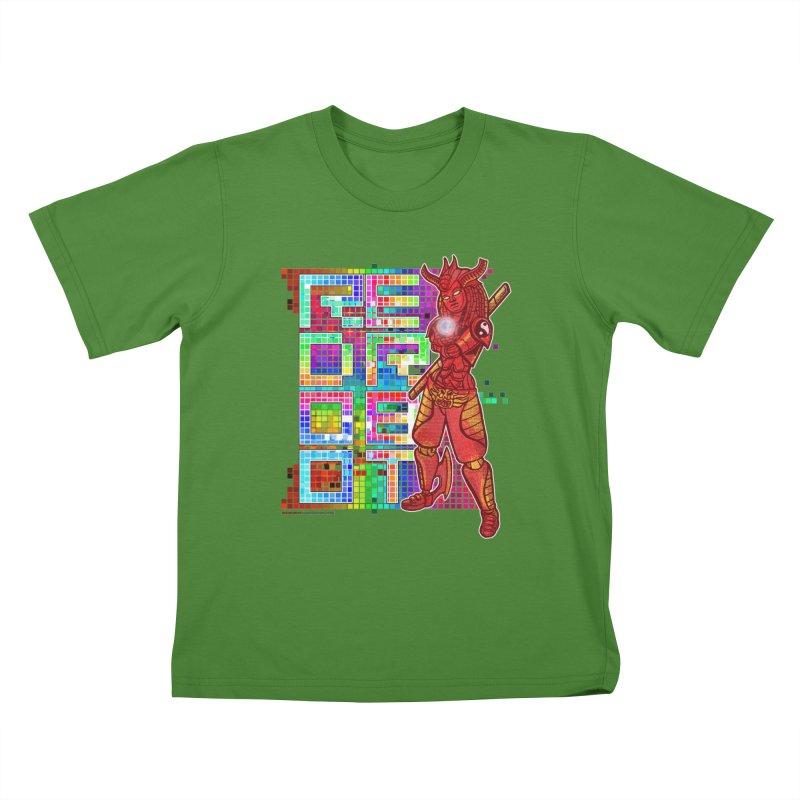 Red Robot: B-GIRLBOT Kids T-shirt by Red Robot