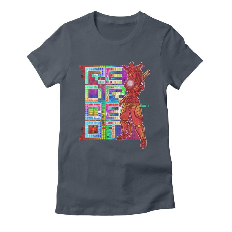 Red Robot: B-GIRLBOT Women's T-Shirt by Red Robot