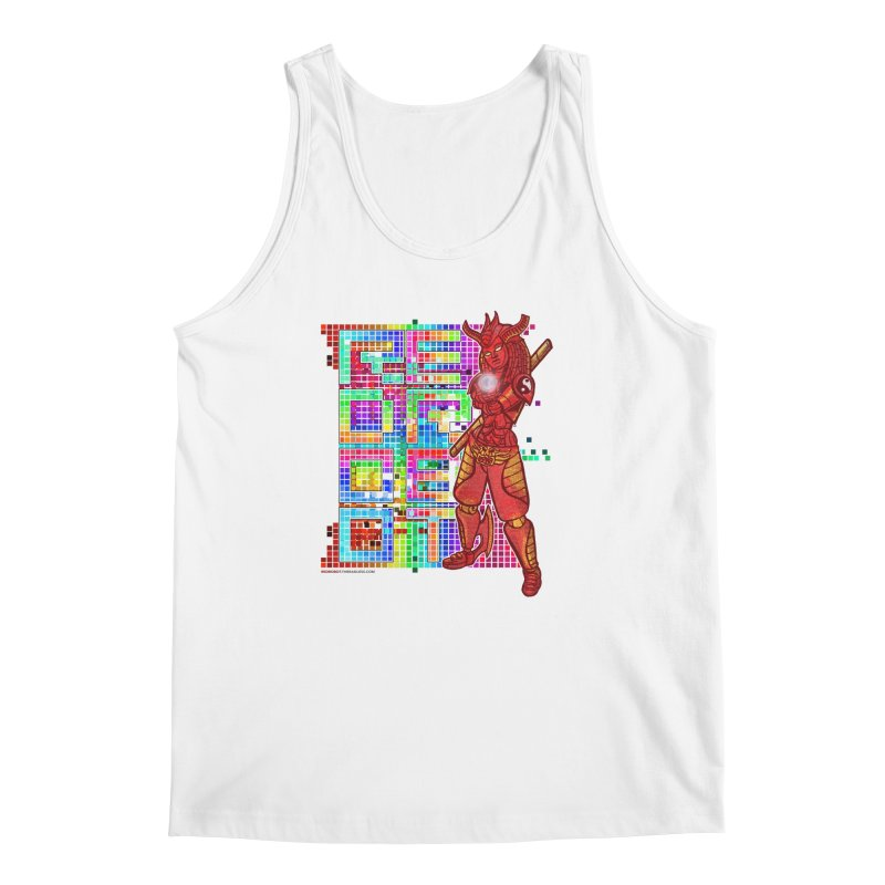 Red Robot: B-GIRLBOT Men's Regular Tank by Red Robot